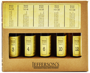Jefferson's Wood Experiment Collection Non-Chill Filtered Straight Kentucky Bourbon Whiskey