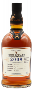 2009 Foursquare Rum Distillery 12 Year Old Ex-Bourbon Cask Exceptional Cask Selection Mark VXII Single Blended Barbados Rum