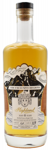 The Exclusive Regions 8 Year Old Highland Single Barrel Cask Strength Malt Whisky
